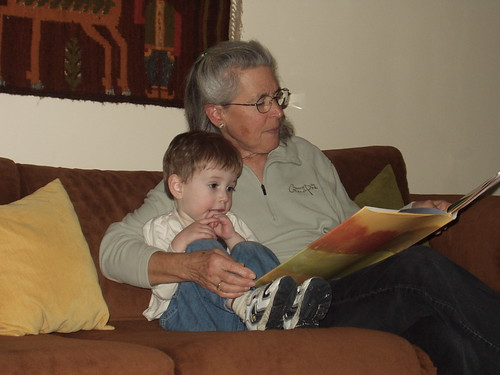 Reading with Grandma Ann