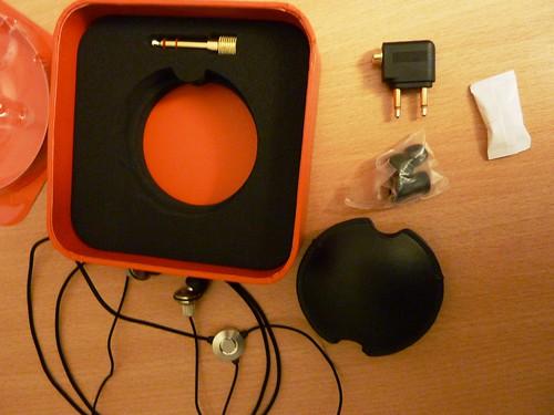 Headphones Atomic Floyd HIDefJax AcousticSteel