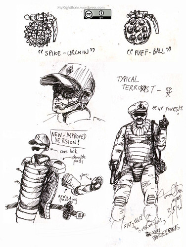 1989 (Oct) Gear of the 23rd Century Police Force