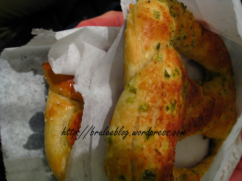 salted and jalapeño parmesan pretzels from New York Preztels in New York New York