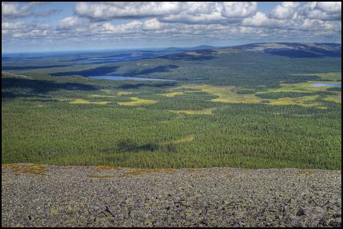 View from Lainiotunturi