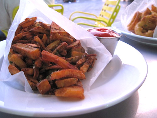 PYT Hand Cut Fries w/ ketchup