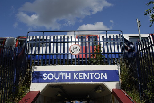 South Kenton station