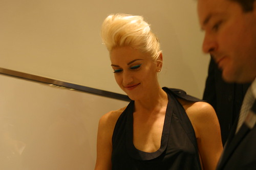 Gwen Stefani At Bloomingdales Fashion's Night Out 3