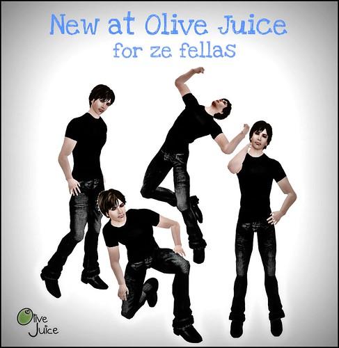 New at Olive Juice Men
