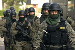 SWAT team prepared