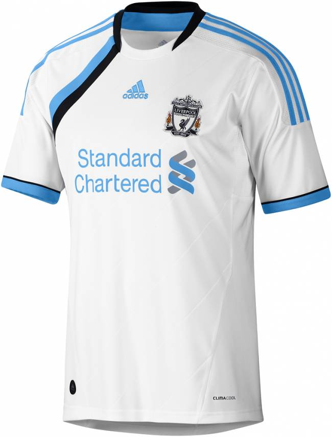 Kostum Away Liverpool 2011-12