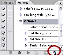PS Actions Tutorial Step21