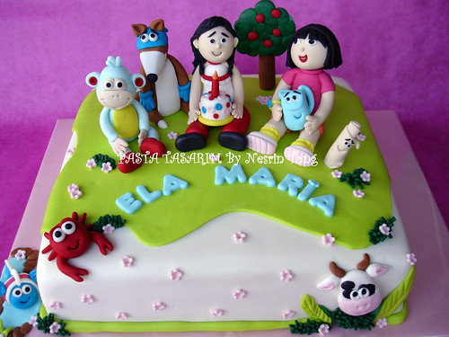 DORA AND BOOTS CAKES