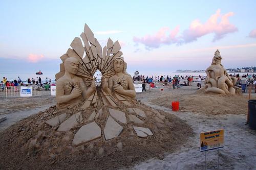 sand sculpture at revere beach 2