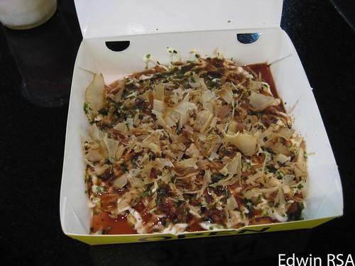 Okonomiyaki done
