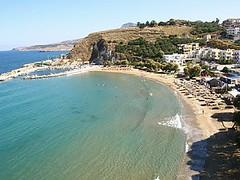 Almirida beach