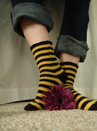 Bumblebee Socks