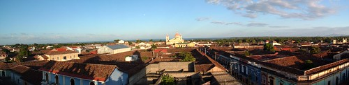 View from Iglesia La Merced
