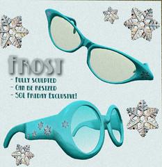 DECO - Frost Retro Glasses