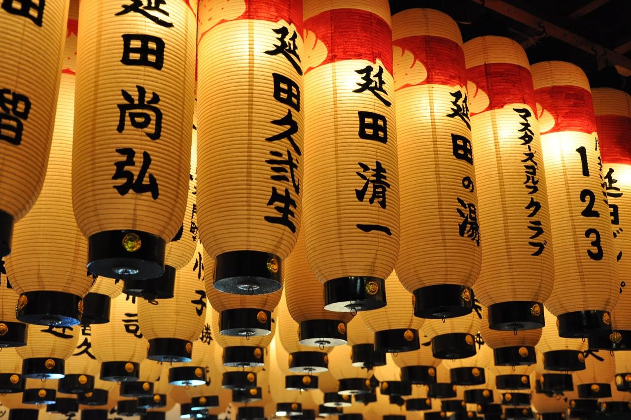 法善寺的燈籠