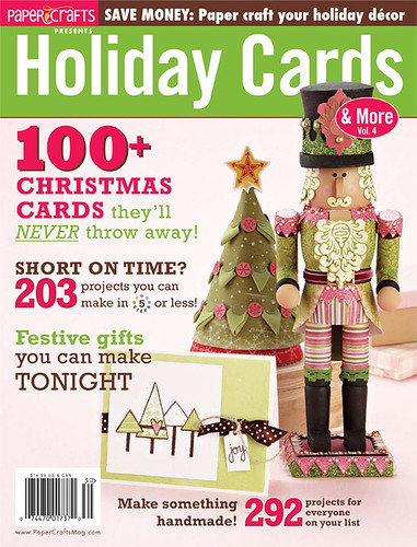 Between today and August 28, you can buy Holiday Cards and More for 10% off. Click on the magazine image to reserve your copy today!