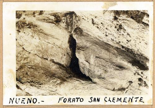 ADACAS - 01-3: Forato San Clemente, Nueno, Huesca. 1921-1924