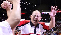 After leading Ginebra to its first back-to-back titles in 2004-2005, this guy was surprisingly demotd to assistant coach of Jong Uichico in 2006.