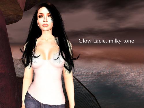 LAQ Glow Lacie milky