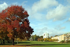 Churchill College, October 2009