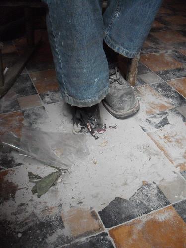 Artist Brussels Cemented Leg