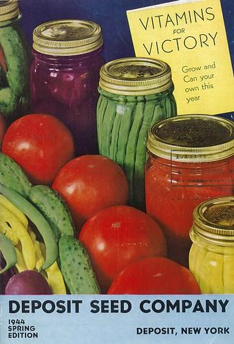 Deposit Seed Co Victory Garden Catalog 1944