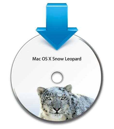 Snow Leopard DVD icon