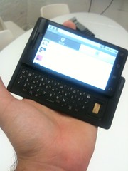 QWERTY keypad on Droid