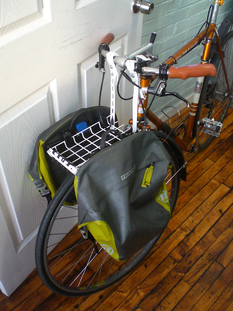 Home-made front rack