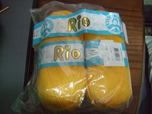 Yellow Madame Tricote Rio