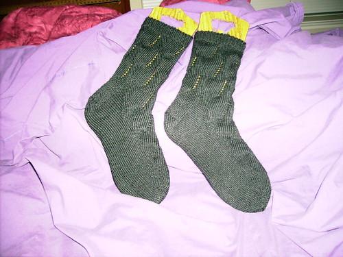 Sunday Swing Socks - Fin