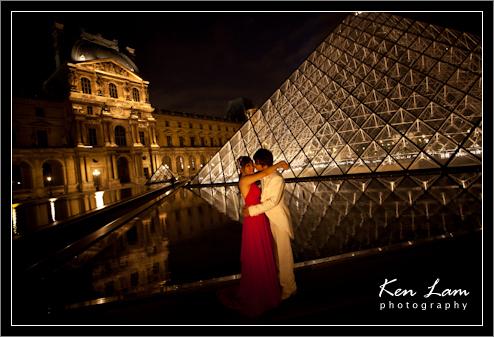 Apple & Wah - Pre-wedding in Paris