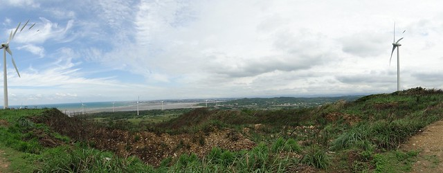 風力發電機群
