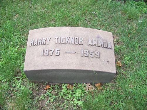 Harry Ticknor Ammon