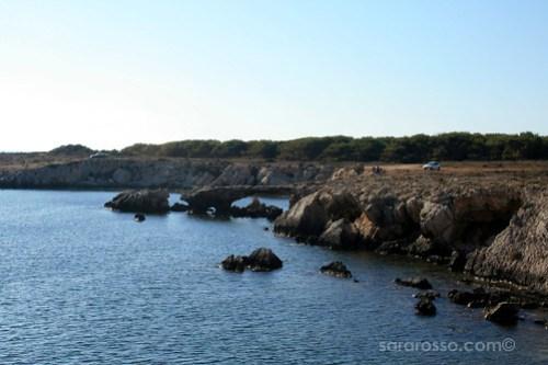Cala Rotonda on Favignana Island, Sicily, Italy
