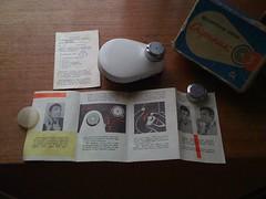 For sale : The Sputnik, a handcranked soviet made shaving machine / torture device