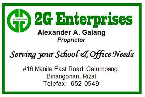 2G Enterprises