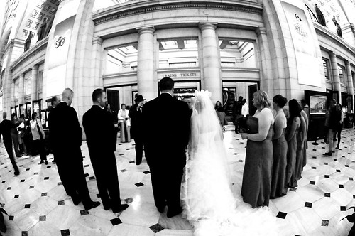 Wedding at Union Station