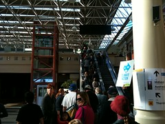 Rally Crowd (and others) Perth station