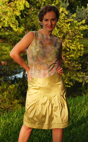 The A Plus A Line Skirt variation