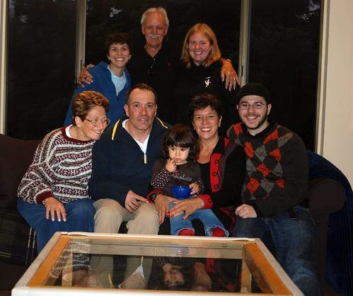 Family at Thanksgiving