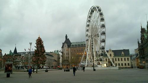Ferris wheel in malmö
