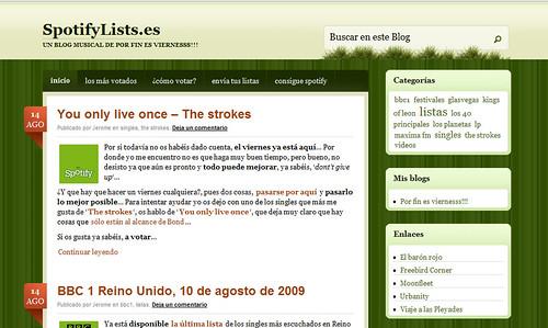 SpotifyLists.es - Un blog musical de Por fin es viernesss!!!