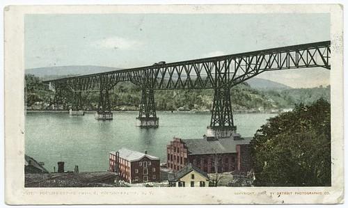 The Bridge, Poughkeepsie, N.Y. by New York Public Library