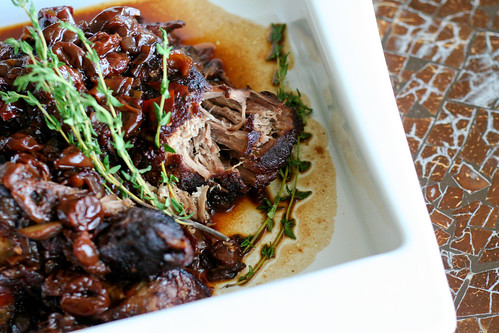 Pomegranate & Cherry Braised Pork