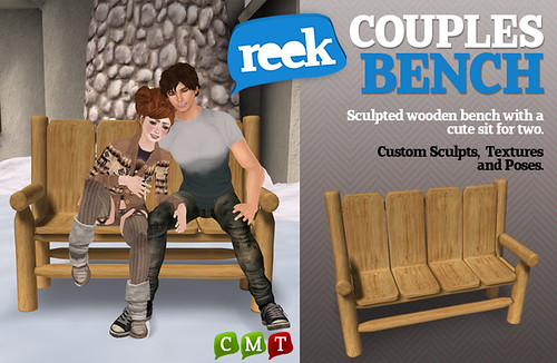 Reek-Couples Bench