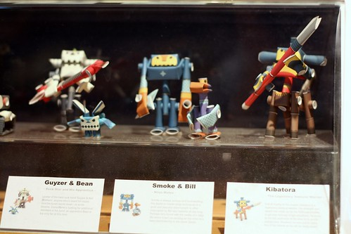 tiny paper robots