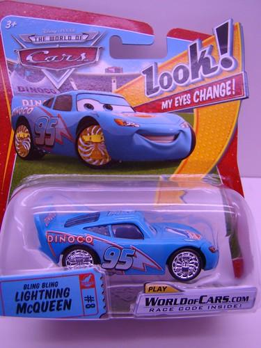Disney CARS Lenticular Bling Bling McQueen