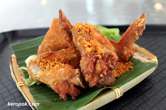 Chicken Wings Penyet